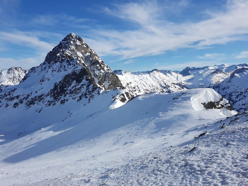 pico salvaguardia desde montañeta