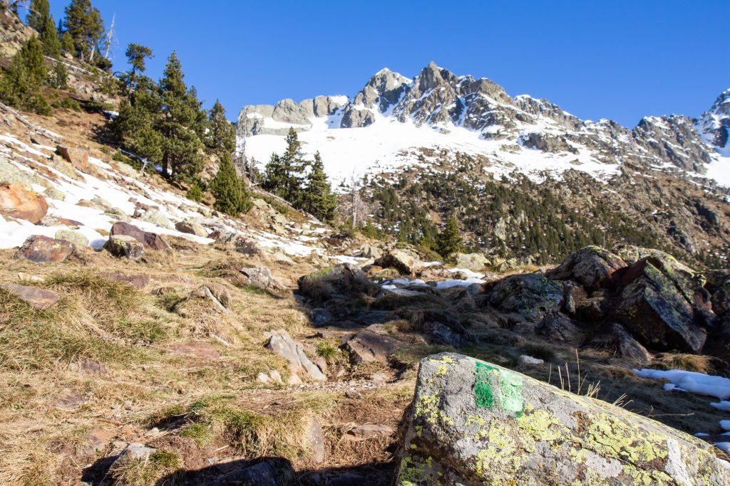 corredor oeste de la montañeta