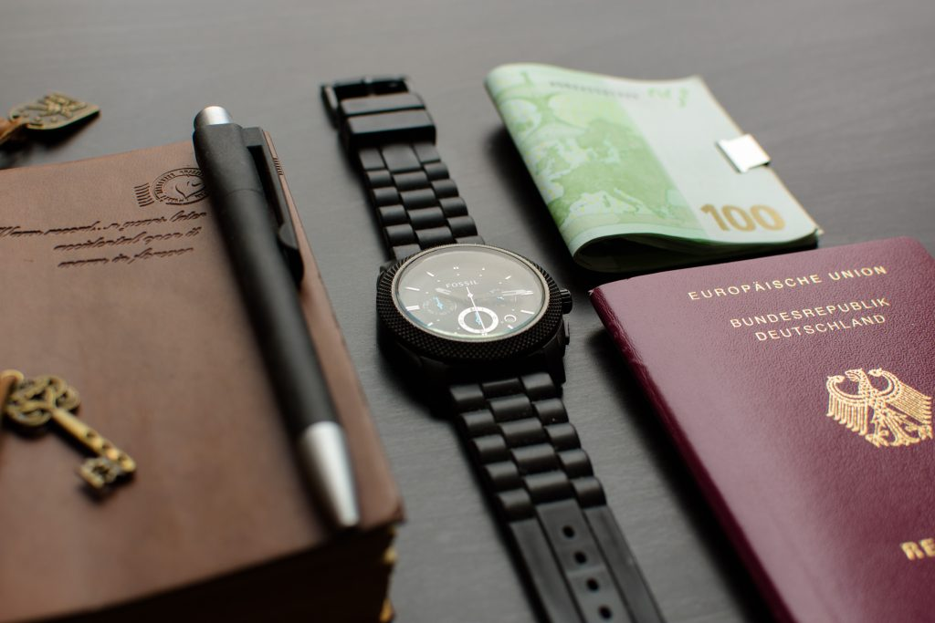 objetos viajar