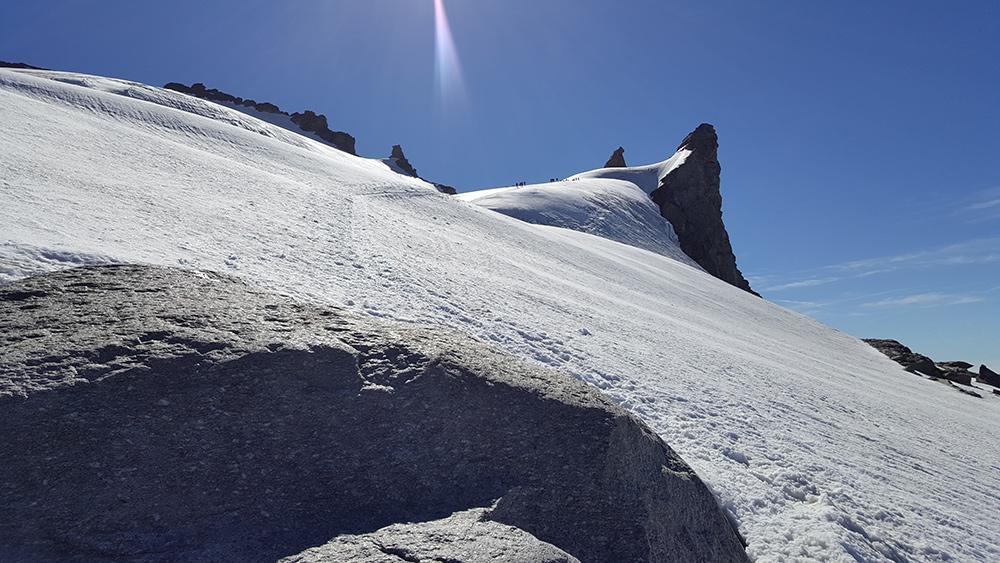 gran paradiso glaciar