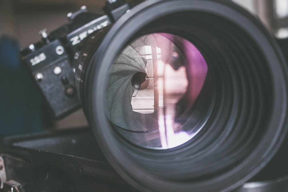 diafragma fotografía
