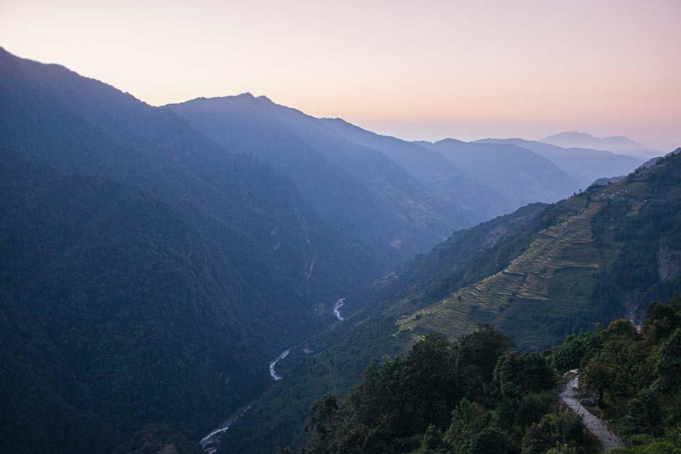 amanecer trekking annapurna