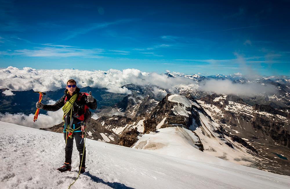 crampones alpinismo
