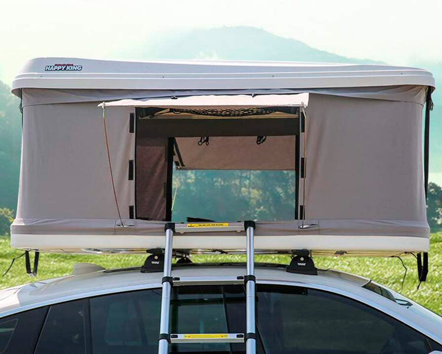 ABS hard top roof tent