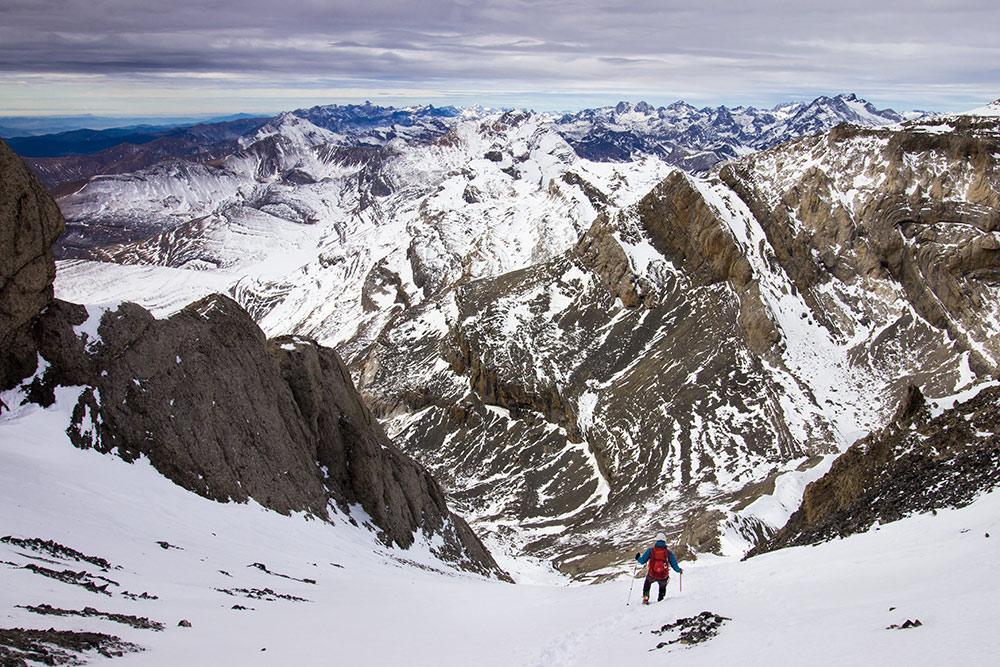 piolet montaña