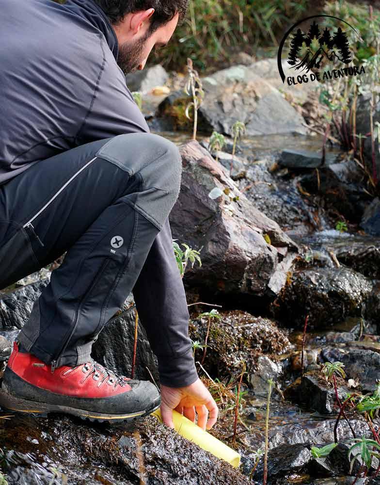 botas de montaña semirigidas