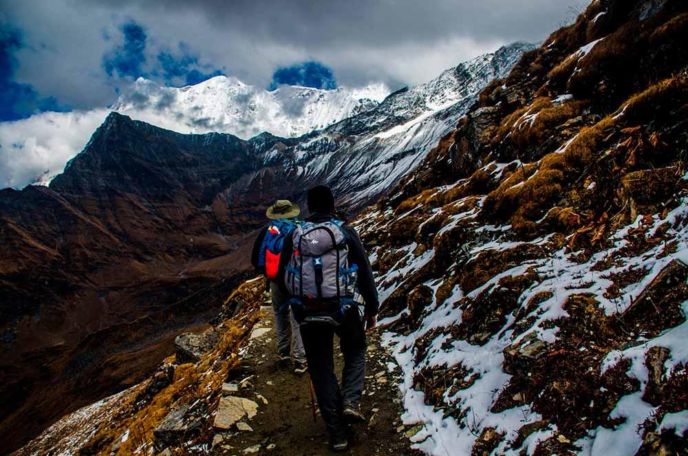 trekking linterna frontal