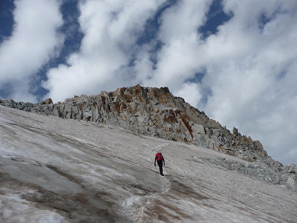 subir el glaciar del aneto